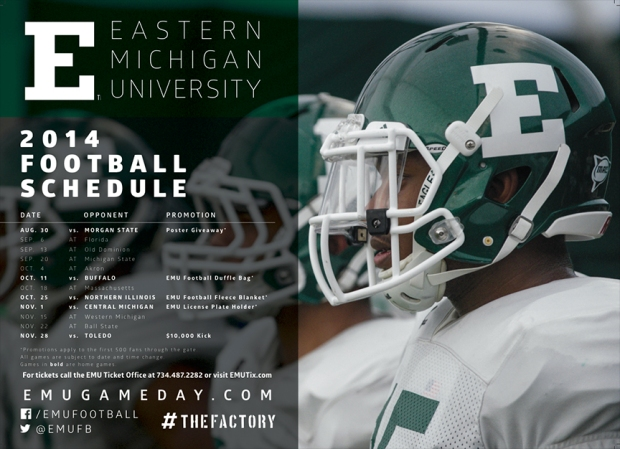 The Posterswag Com 2014 Fbs College Football Schedule Poster Top 100